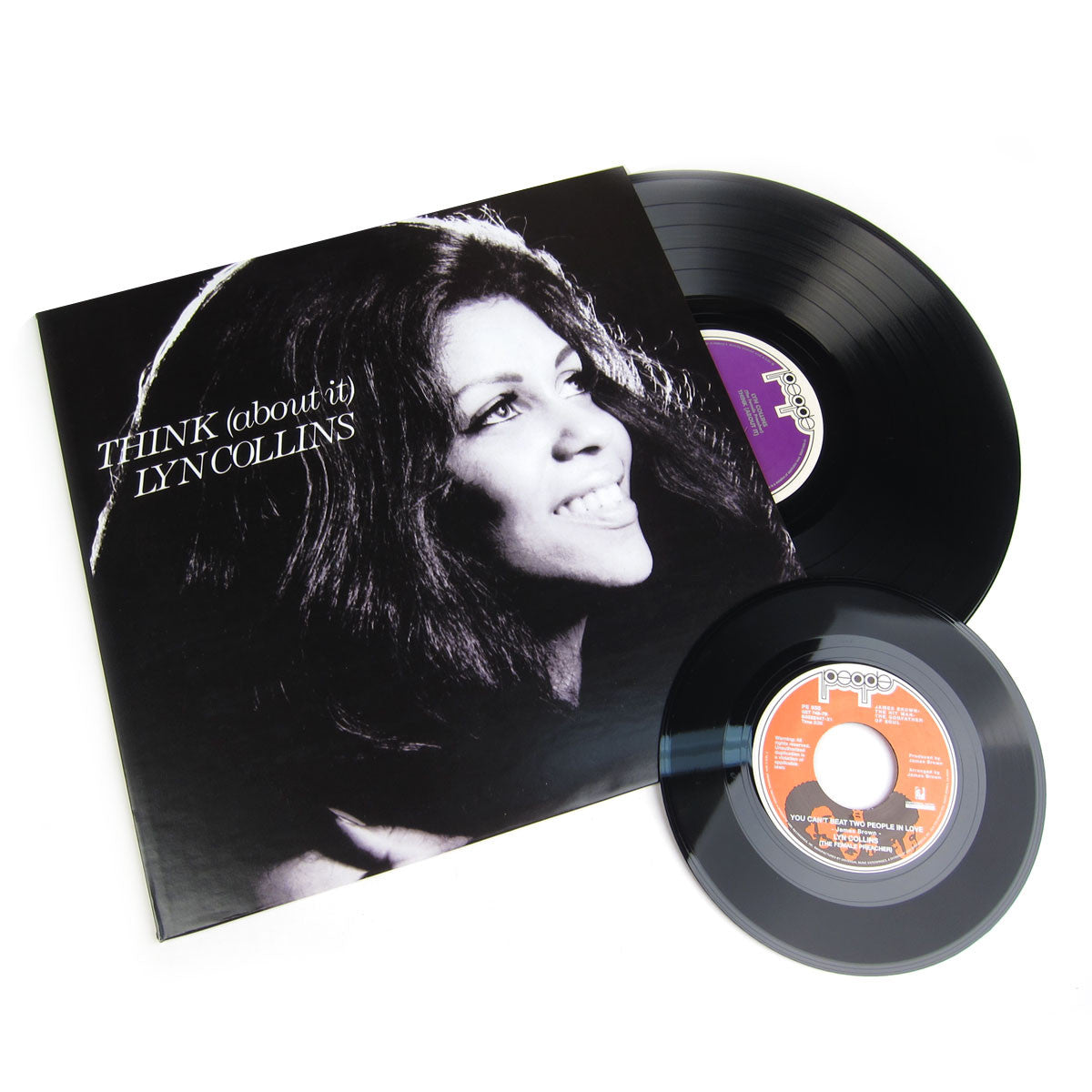 Lyn Collins: Think (About It) Deluxe Vinyl LP+7""