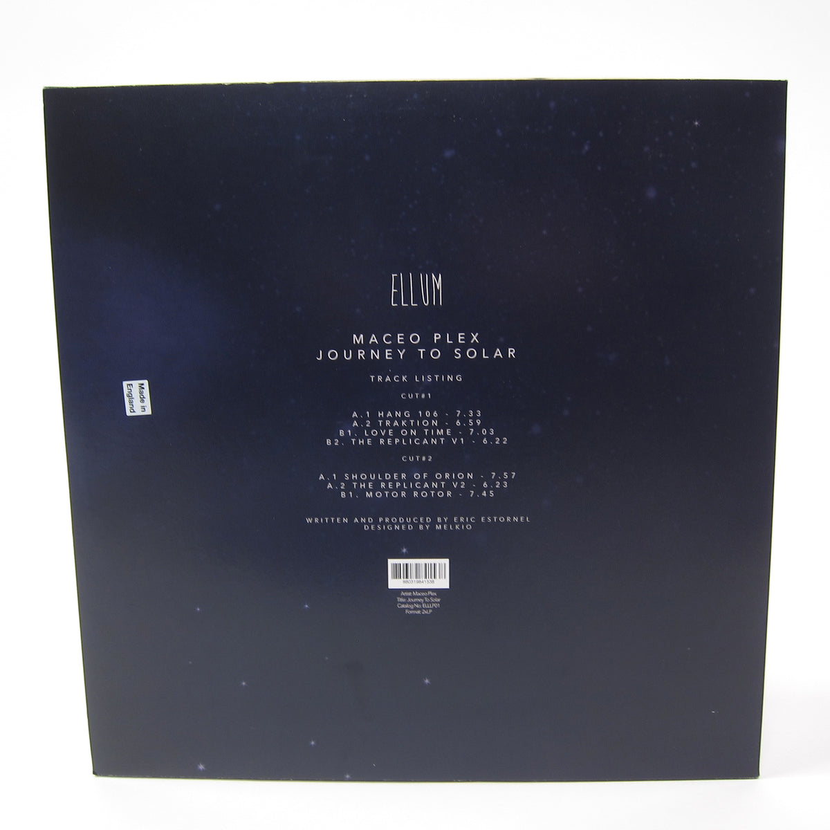 Maceo Plex: Journey To Solar (Colored Vinyl) Vinyl 2LP