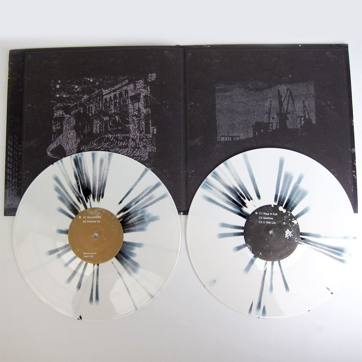 Machinedrum: Vapor City (Free MP3) 2LP gatefold