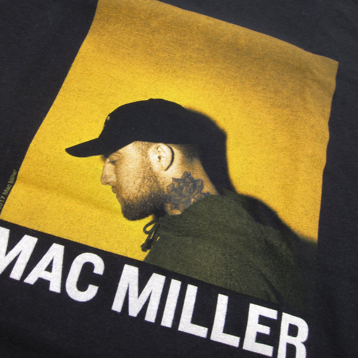 Mac Miller: Profile Picture Shirt - Black