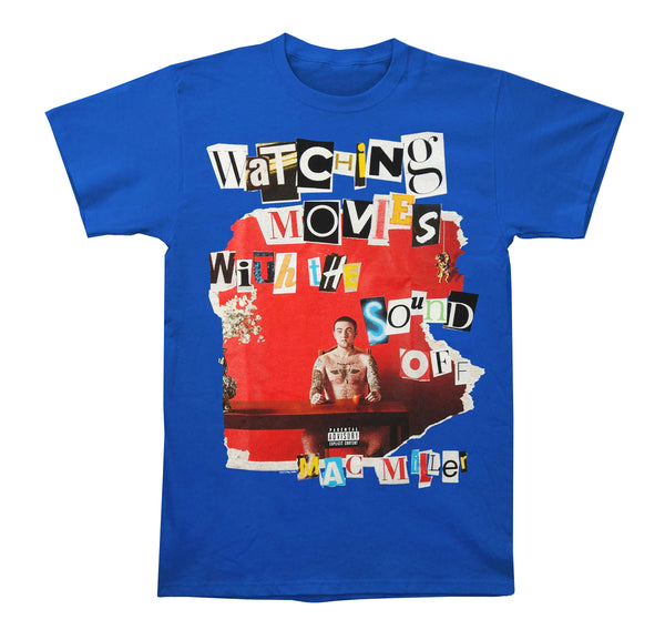 Mac Miller: Ransom Letters Shirt - Royal