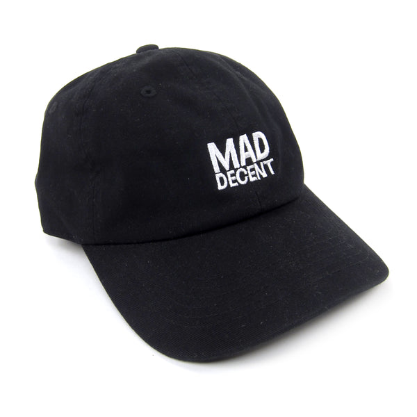 Mad Decent: Main Logo Dad Hat - Black