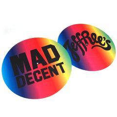 Mad Decent: Jeffrees Slipmats (Pair)