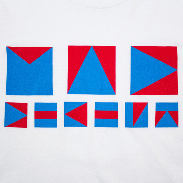 Mad Decent: Nautical Flags Shirt - White