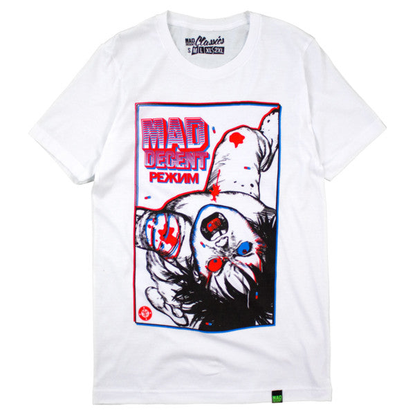 Mad Decent: Mishka x Mad Decent RB3D Shirt - White