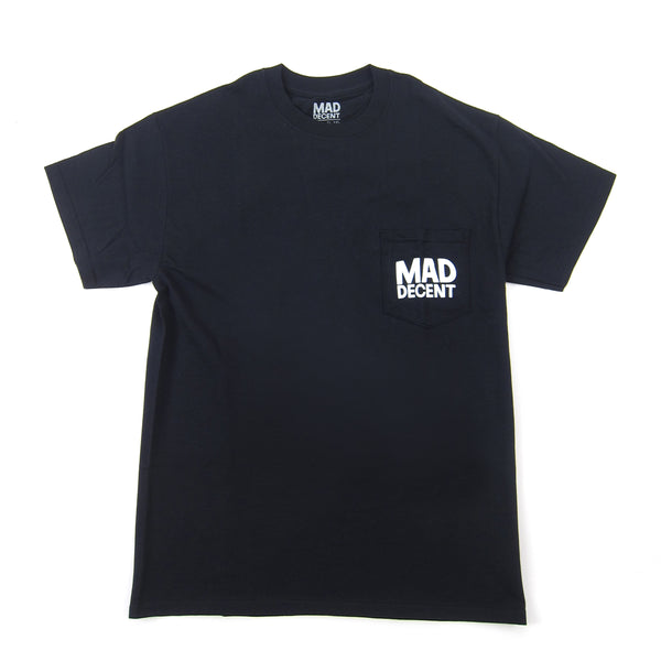 Mad Decent: Main Logo Pocket Shirt - Black