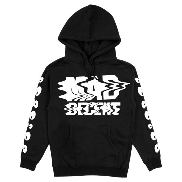 Mad Decent: Trippy Pullover Hoodie - Black