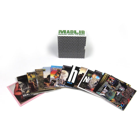 Madlib: Medicine Show The Brick 13 CD Boxset