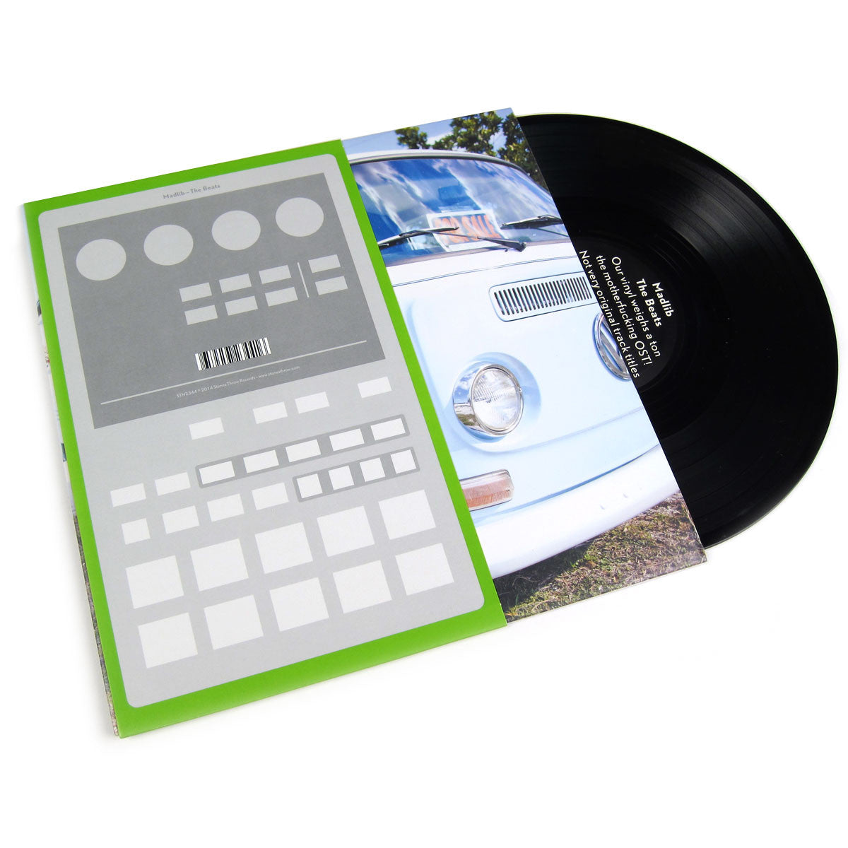 Madlib: The Beats - Our Vinyl Weighs A Ton OST (Free MP3) Vinyl 10""