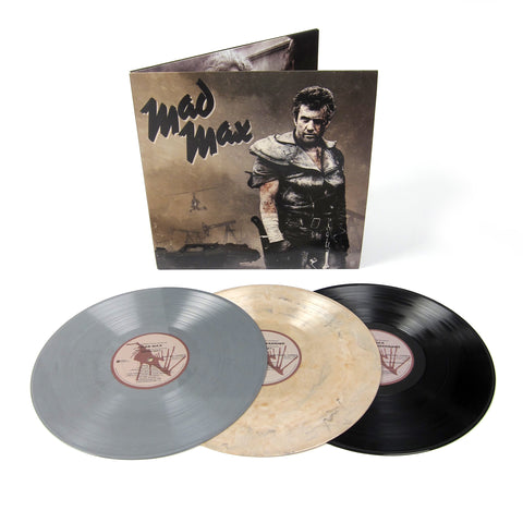 Mad Max: The Mad Max Trilogy (180g, Colored Vinyl) Vinyl 3LP