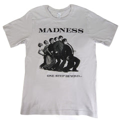 Madness: One Step Beyond Shirt - Light Grey
