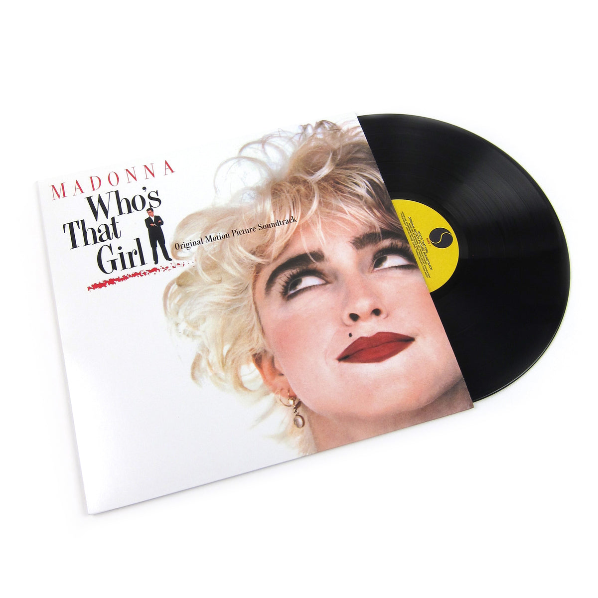 Madonna: Who's That Girl Soundtrack Vinyl LP