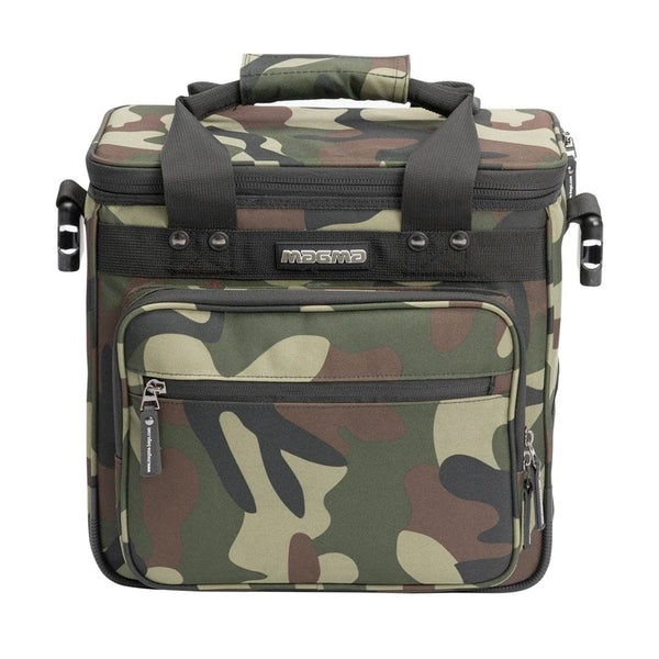 Magma: LP Record DJ Bag 50 - Camo-Green/Red (MGA44211)