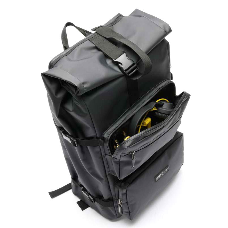 Magma: Rolltop Backpack II - Digital DJ Backpack (MGA47350) open