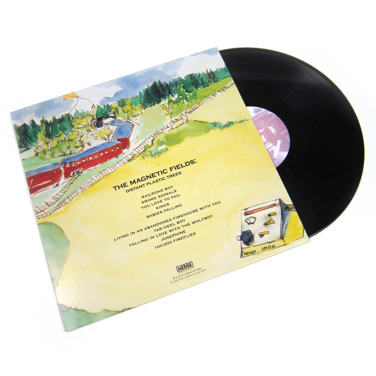 The Magnetic Fields: The Wayward Bus / Distant Plastic Trees Vinyl 2LP