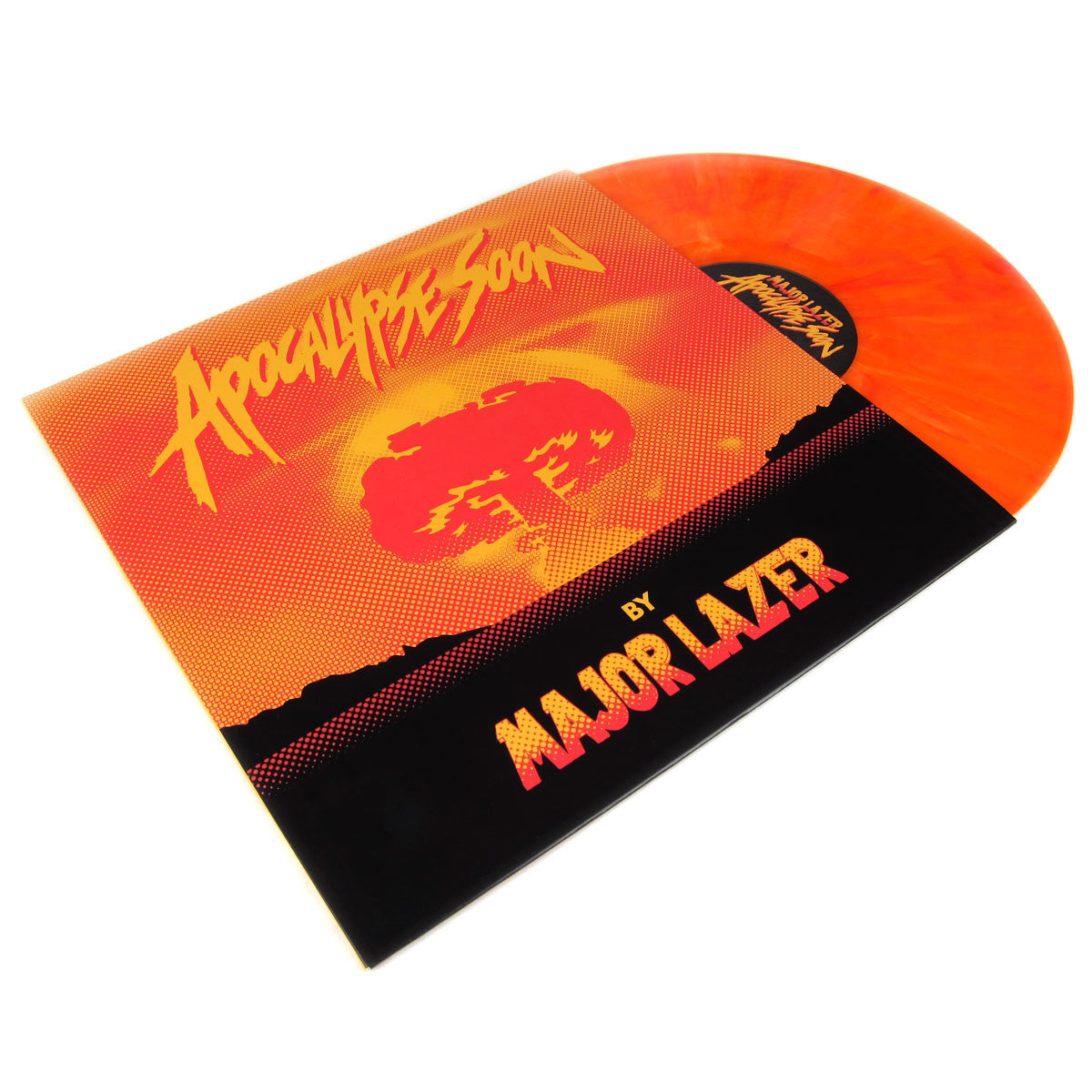 Major Lazer: Apocalypse Soon (Pharrell,Colored Vinyl, Free MP3) Vinyl 12""