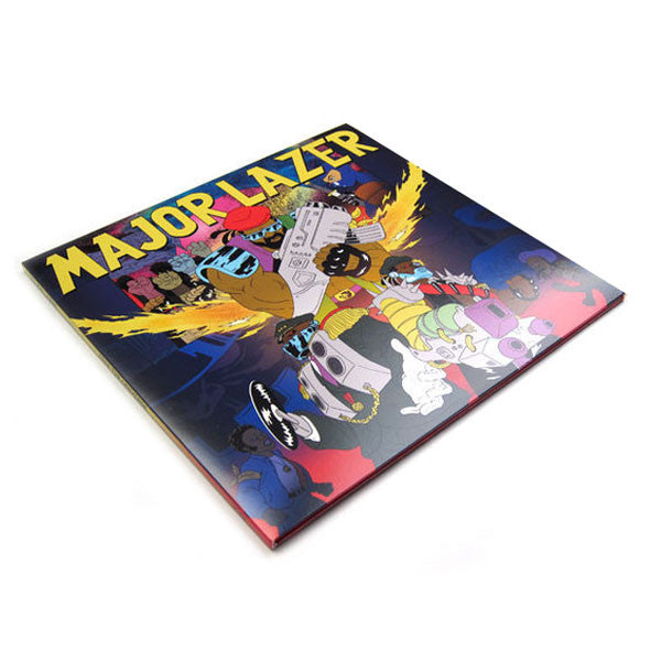 Major Lazer: Free The Universe (Free MP3) 2LP