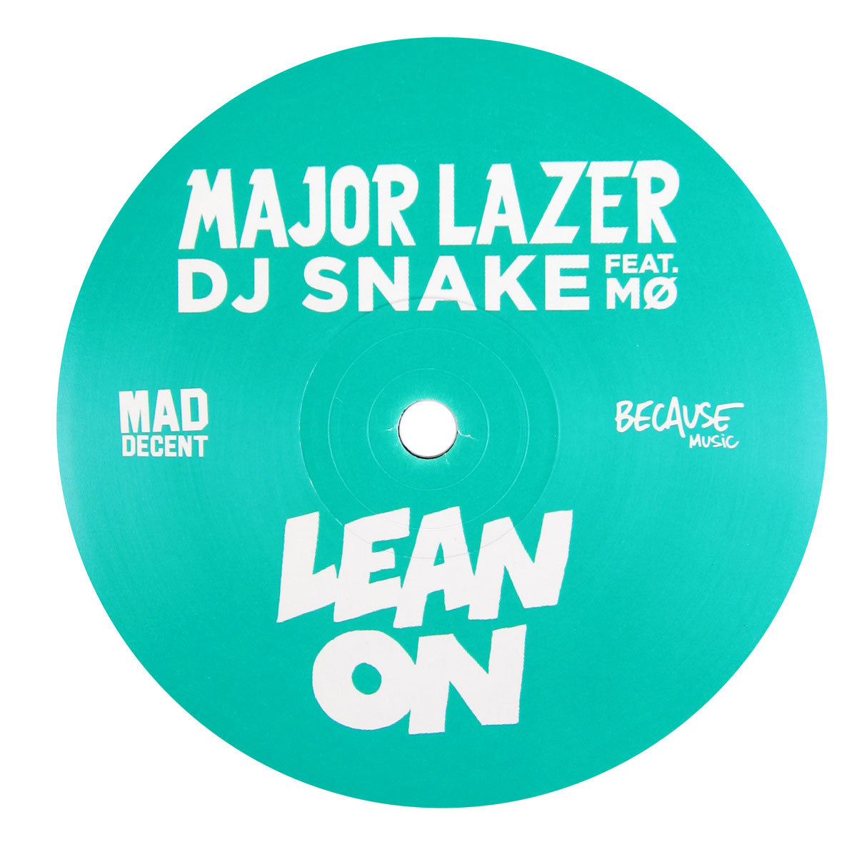 Major Lazer x DJ Snake: Lean On (Fono Remix) Vinyl 12""