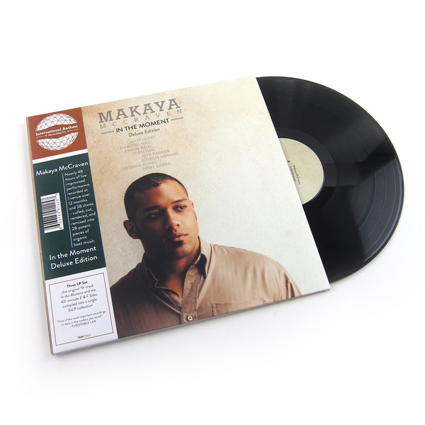 Makaya McCraven: In The Moment Deluxe Edition Vinyl 3LP