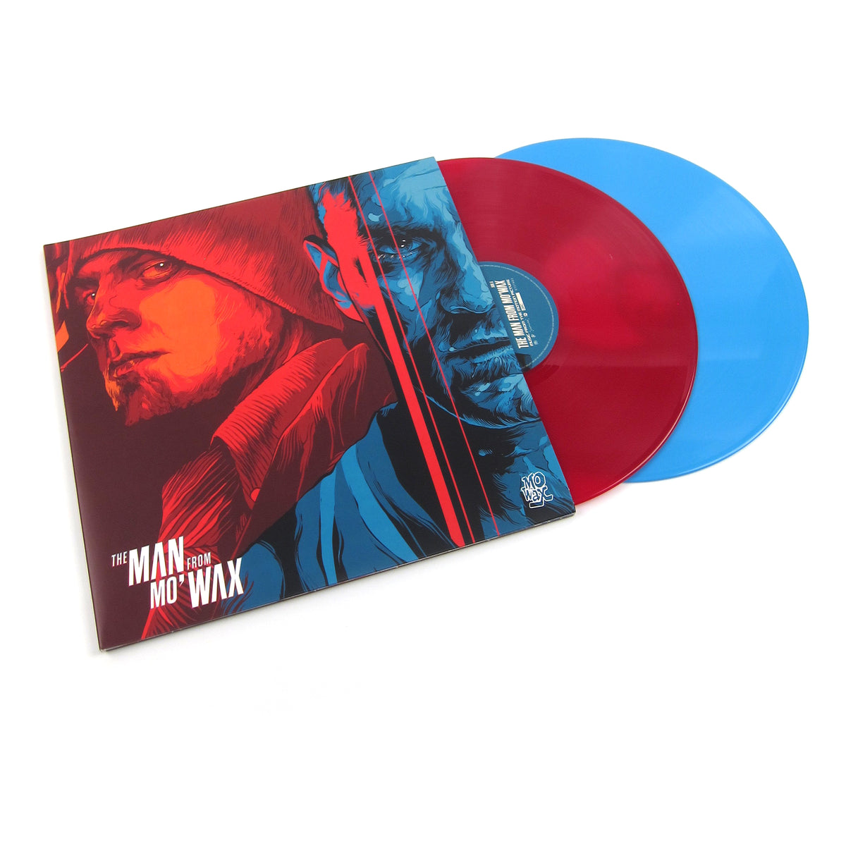 Mo' Wax: Man From Mo' Wax (Colored Vinyl) Vinyl 2LP