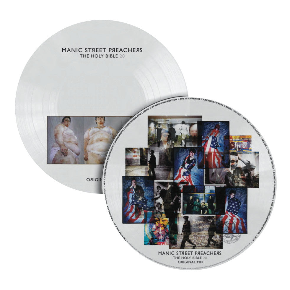 Manic St Preachers: Holy Bible 20th Anniversary Picture Disc Vinyl LP (Record Store Day)