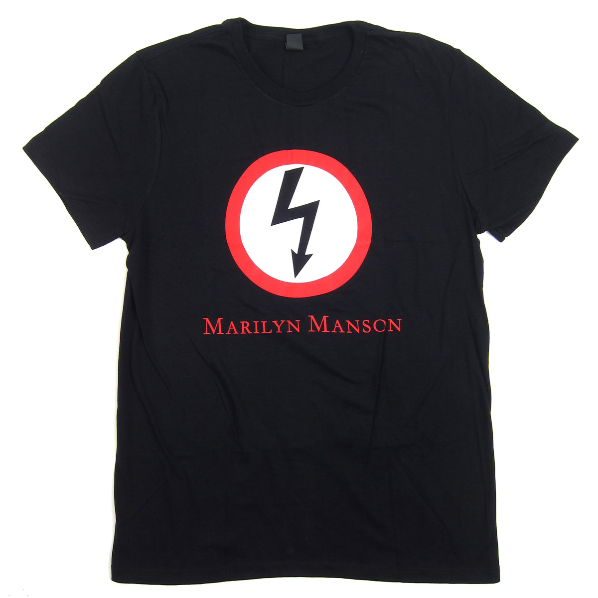 Marilyn Manson: Classic Bolt Shirt - Black