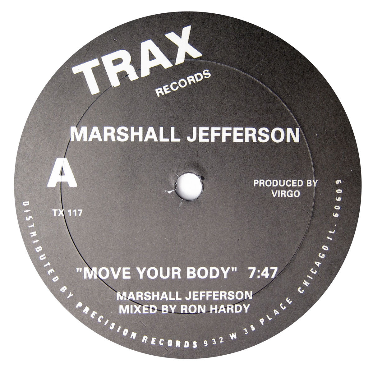 Marshall Jefferson / Jamie Principle: Move Your Body / Baby Wants To Ride Vinyl 12""