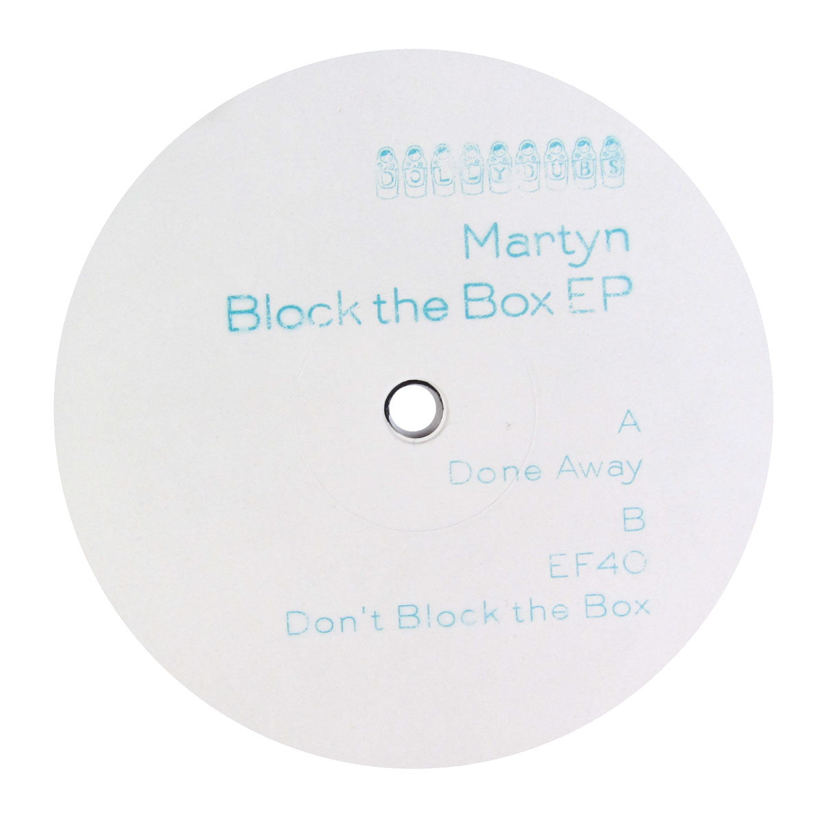 Martyn: Block The Box Vinyl 12""