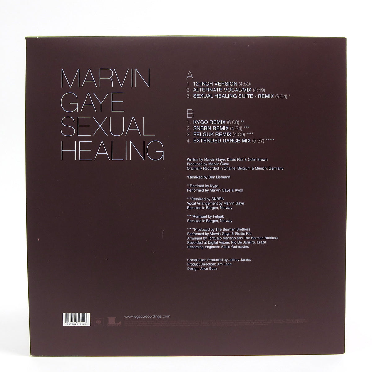 Marvin Gaye: Sexual Healing - The Remixes (Colored Vinyl) Vinyl LP (Record Store Day)