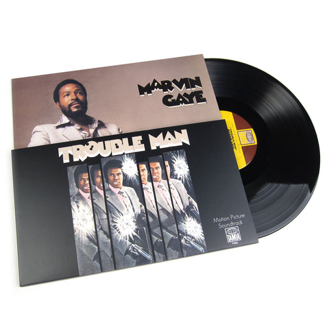 Marvin Gaye: Trouble Man OST Vinyl LP