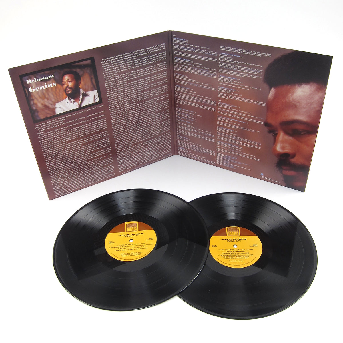 Marvin Gaye: You're The Man Vinyl 2LP