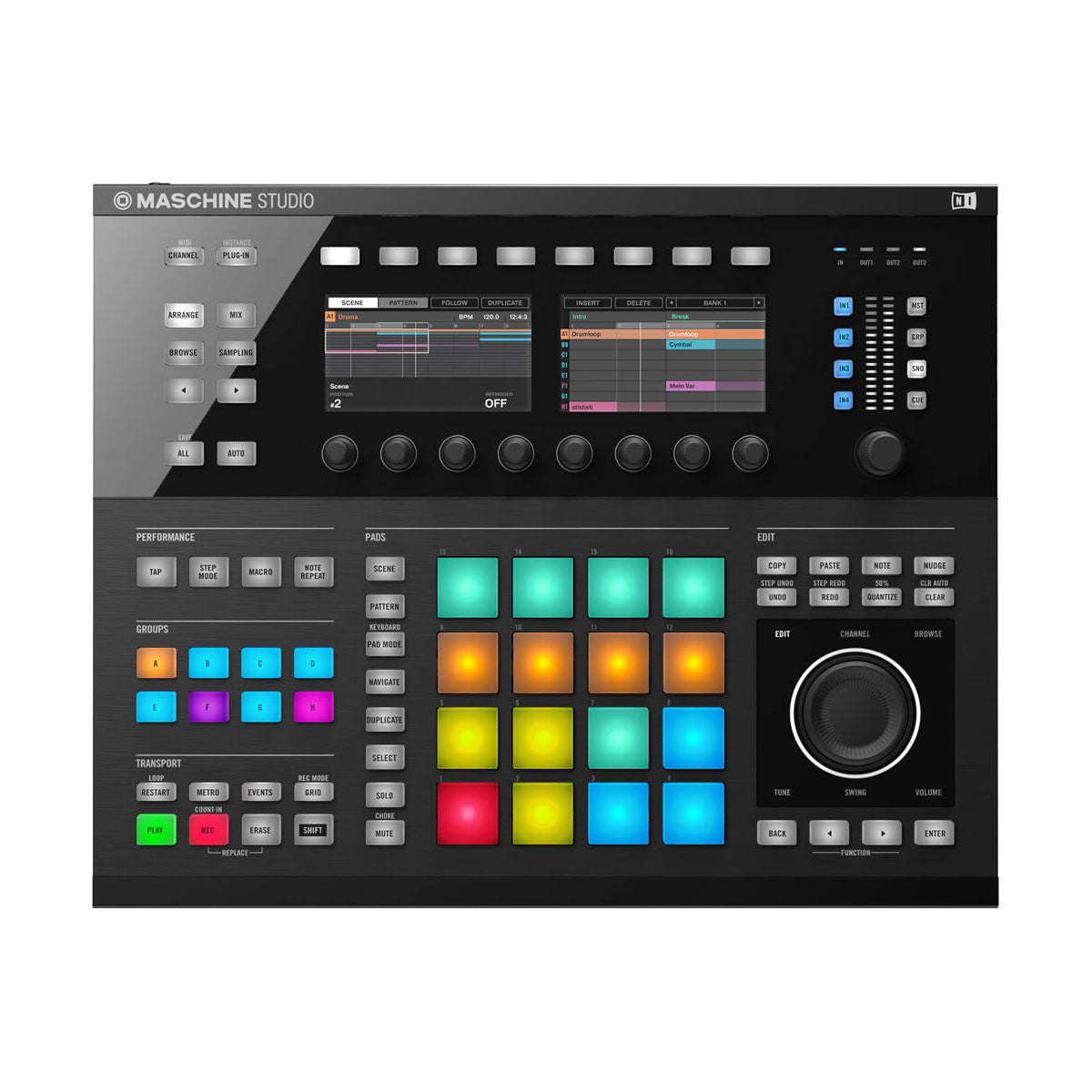 Native Instruments: Maschine Studio - Black top
