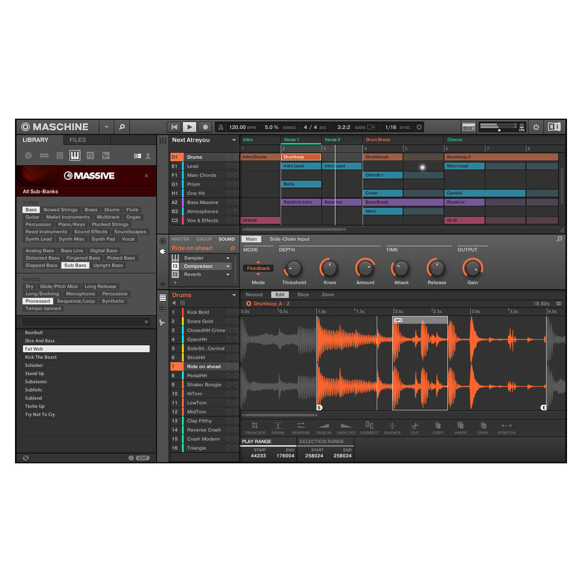 Native Instruments: Maschine Studio - Black screen 3