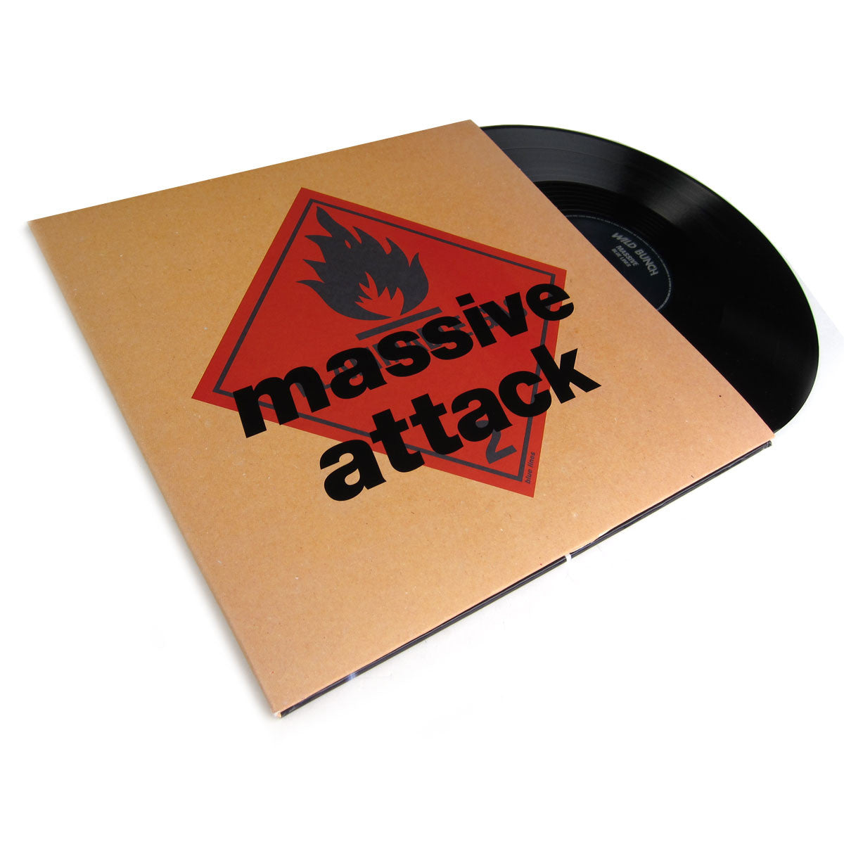 Massive Attack: Blue Lines (with CD + DVD) Vinyl 2LP Boxset