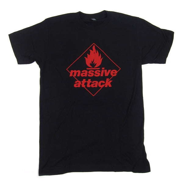 Massive Attack: Blue Lines Shirt - Black