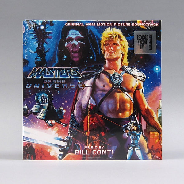 Bill Conti: Masters Of The Universe Original Soundtrack (Colored Vinyl) Vinyl 2LP (Record Store Day)
