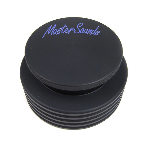 MasterSounds: Turntable Weight - Black / Purple