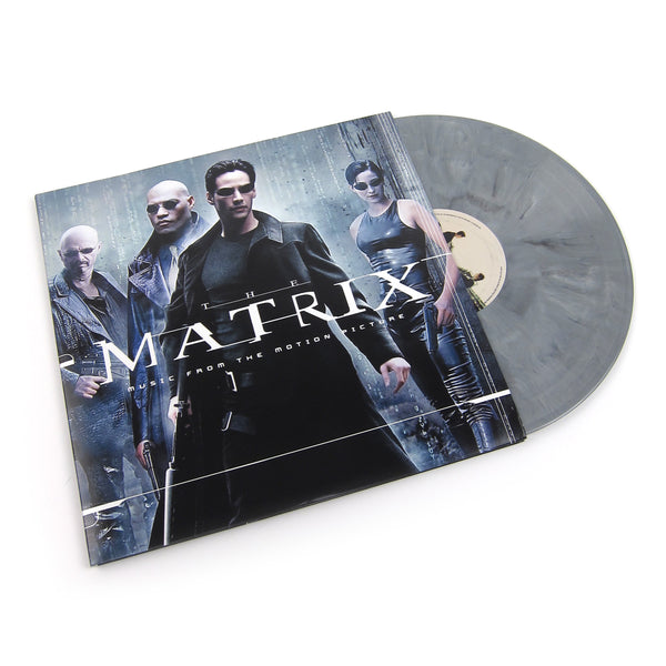 The Matrix: The Matrix - Music From The Motion Picture (Machine Grey Colored Vinyl) Vinyl 2LP