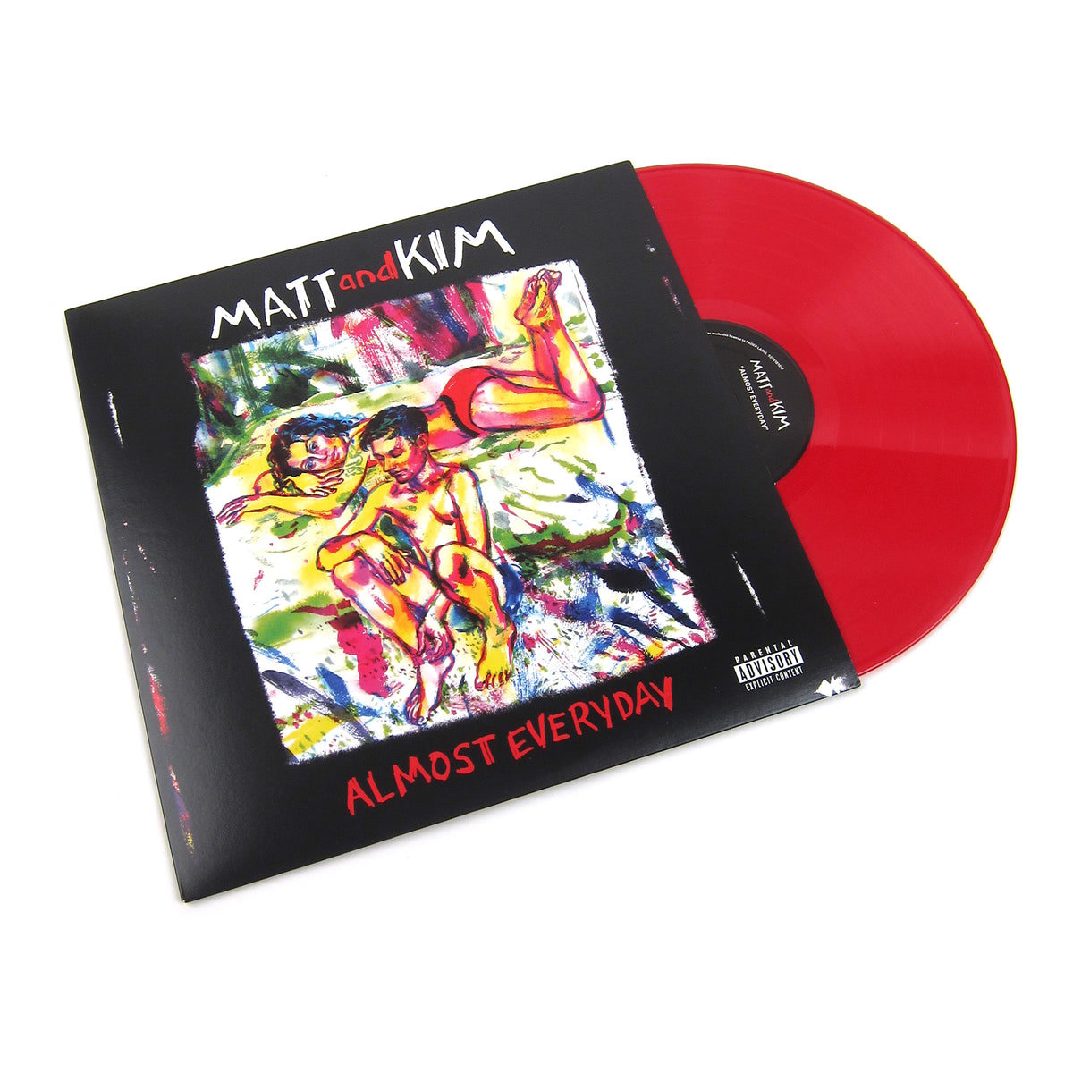 Matt & Kim: Almost Everyday (Colored Vinyl) Vinyl LP