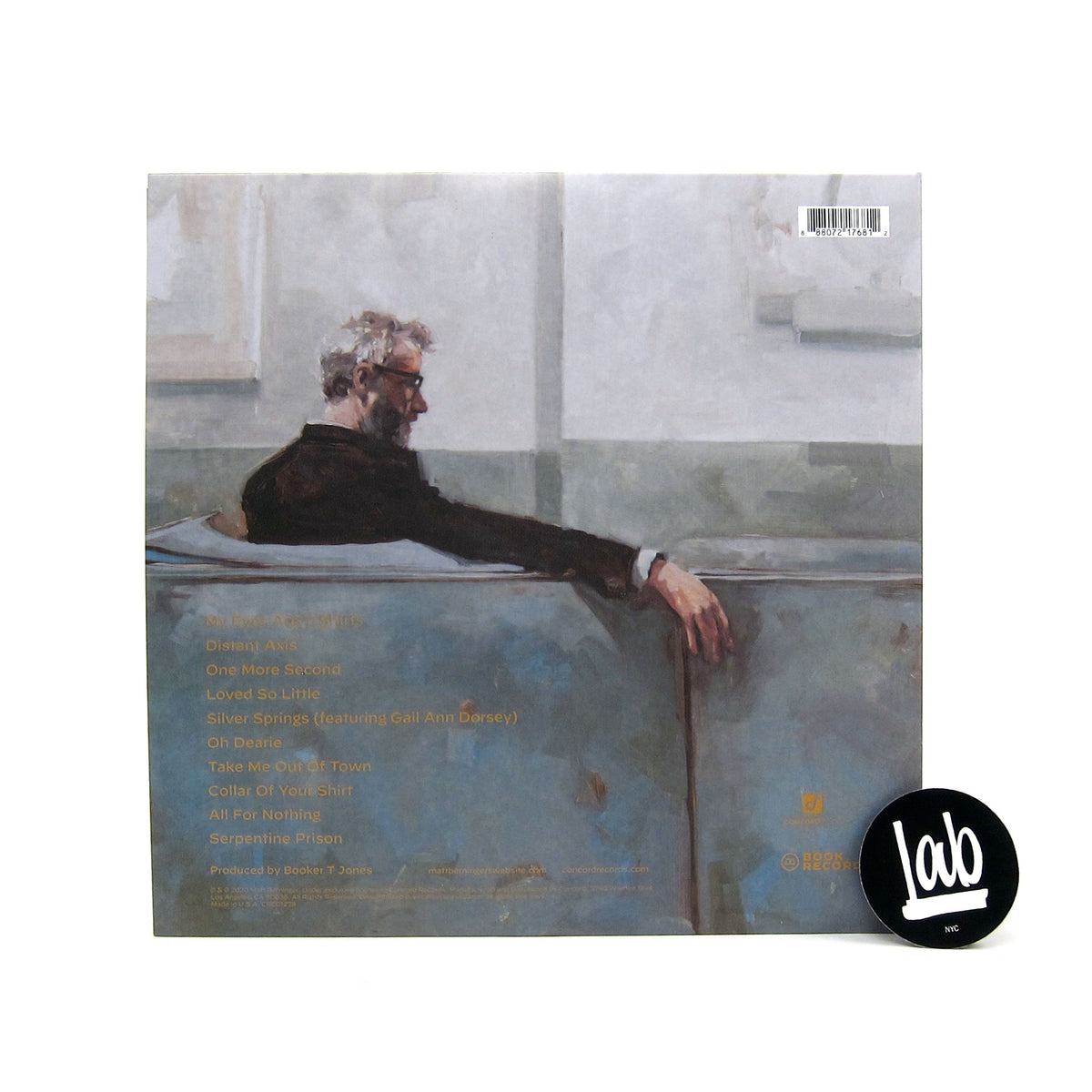 Matt Berninger: Serpentine Prison (Indie Exclusive Colored Vinyl)