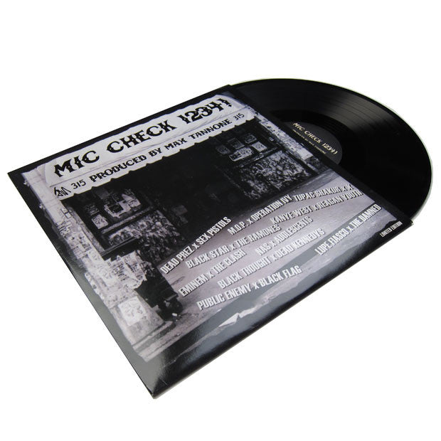 Max Tannone: Mic Check 1234 - Rap vs Punk LP