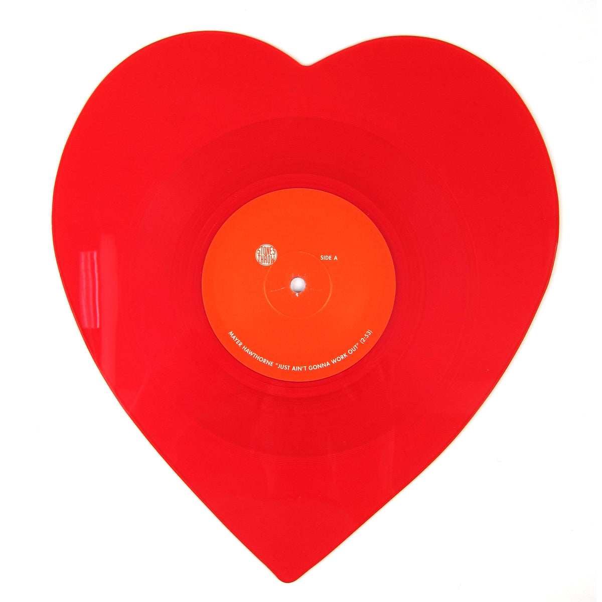 Mayer Hawthorne: Just Ain't Gonna Work Out (Heart Shaped Colored Vinyl) Vinyl 10""