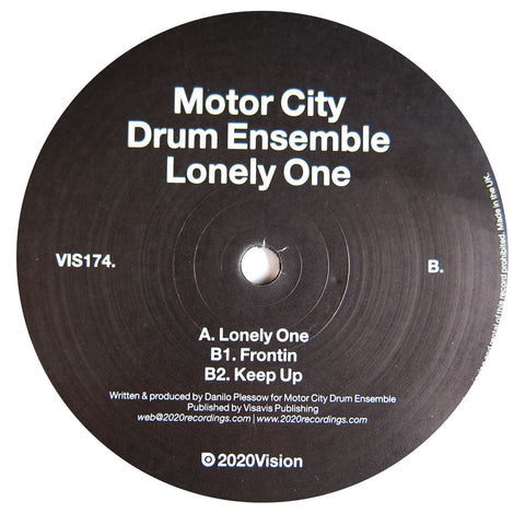 Motor City Drum Ensemble: Lonely One 12""