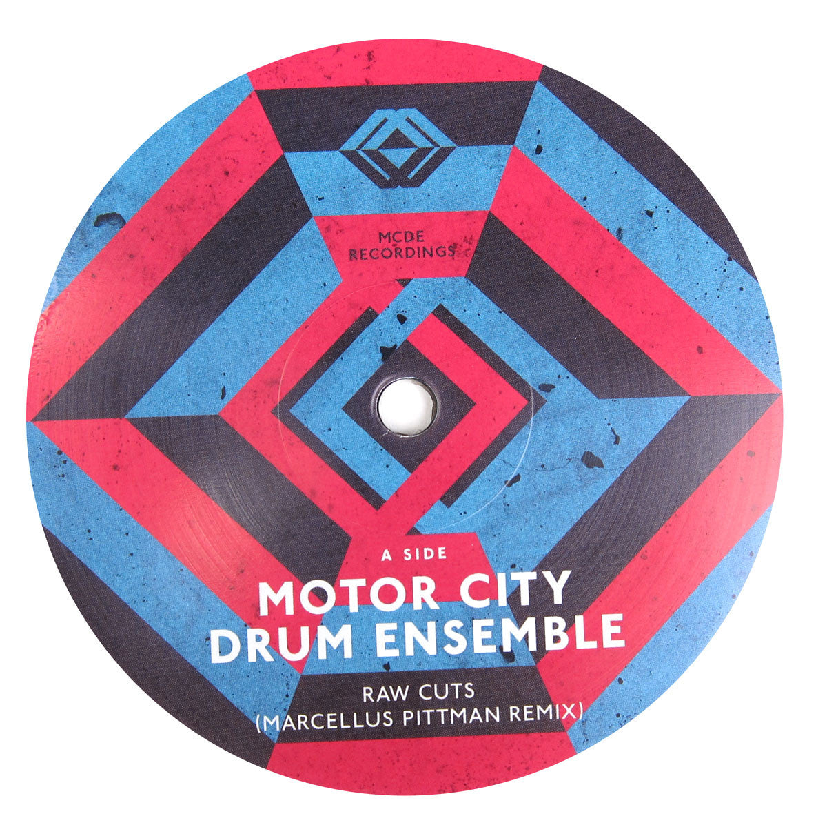 Motor City Drum Ensemble: Raw Cuts RMX (Mike Huckaby, Recloose) Vinyl 12""