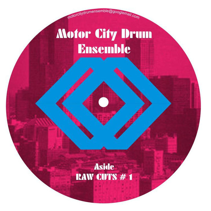 Motor City Drum Ensemble: Raw Cuts 1&2 12""