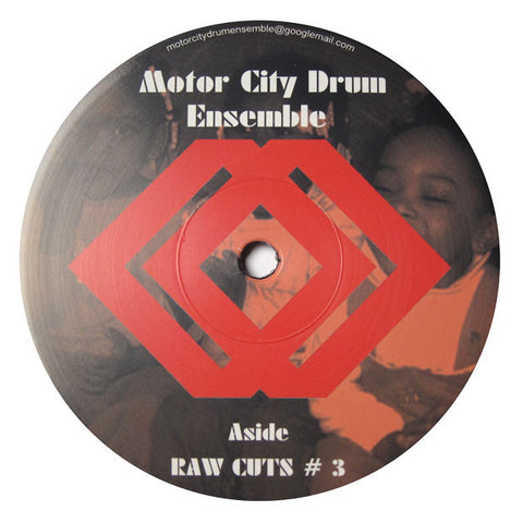 Motor City Drum Ensemble: Raw Cuts 3 & 4 12""