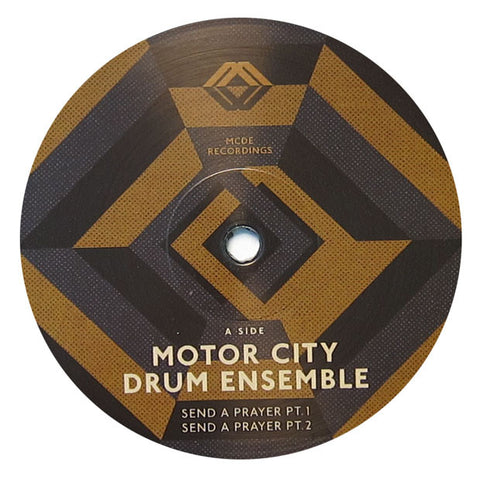 Motor City Drum Ensemble: Send A Prayer Vinyl 12""
