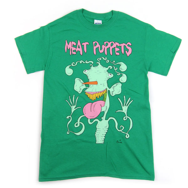 Meat Puppets: Monster Shirt - Green