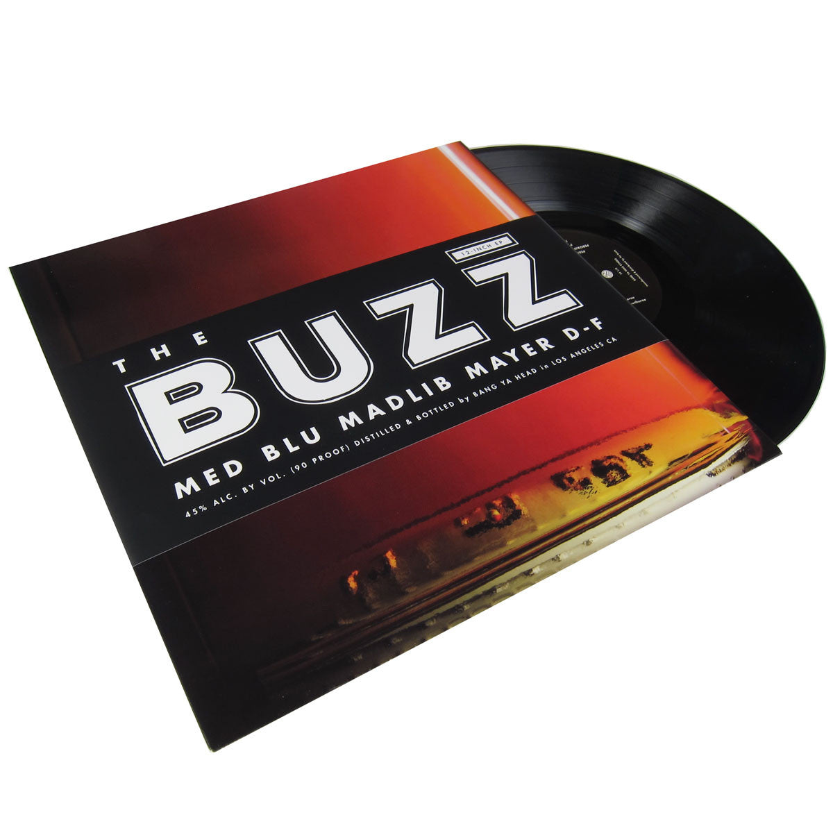 MED / Blu / Madlib: The Buzz EP (feat Mayer Hawthorne & Dam-Funk) 12""