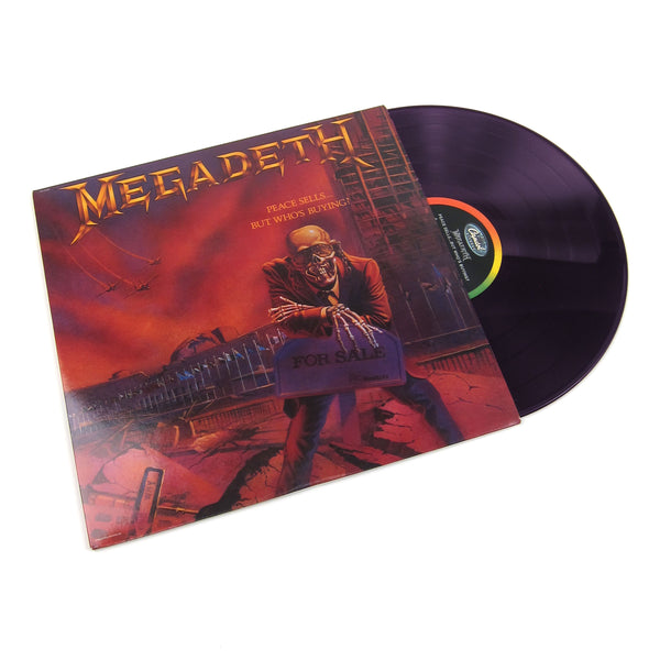 Megadeth: Peace Sells... But Who's Buying? (Colored Vinyl) Vinyl LP